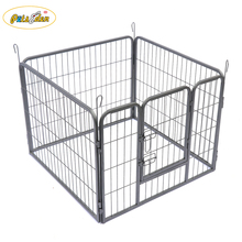 4 Panel Heavy Duty Puppy Dog Pet Playpen Run Enclosure Whelping Pen Metal Cage