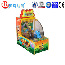 Entertainment Lottery Ticket Video Game Coin Operated Shooting Water Arcade Vending Simulator Machine