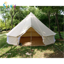 Sunway Heavy Duty Safari Cotton Bell Tent Four Season Waterproof Tent For Camping