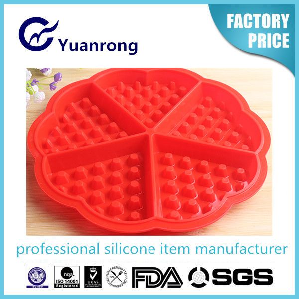 Silicone Homemade Waffle Mould with EU Safty Standard