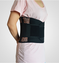 ON SALE AFT-Y011 Tourmaline Self-Heating 20 Magnetic Therapy lumbar back support belt