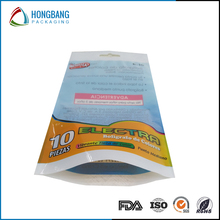 Customized printing standing bags stand up pouch with hanging hole