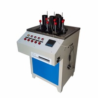 ISO 306 computer control display data Vicat softening point tester for PPR PP Plastic pipe