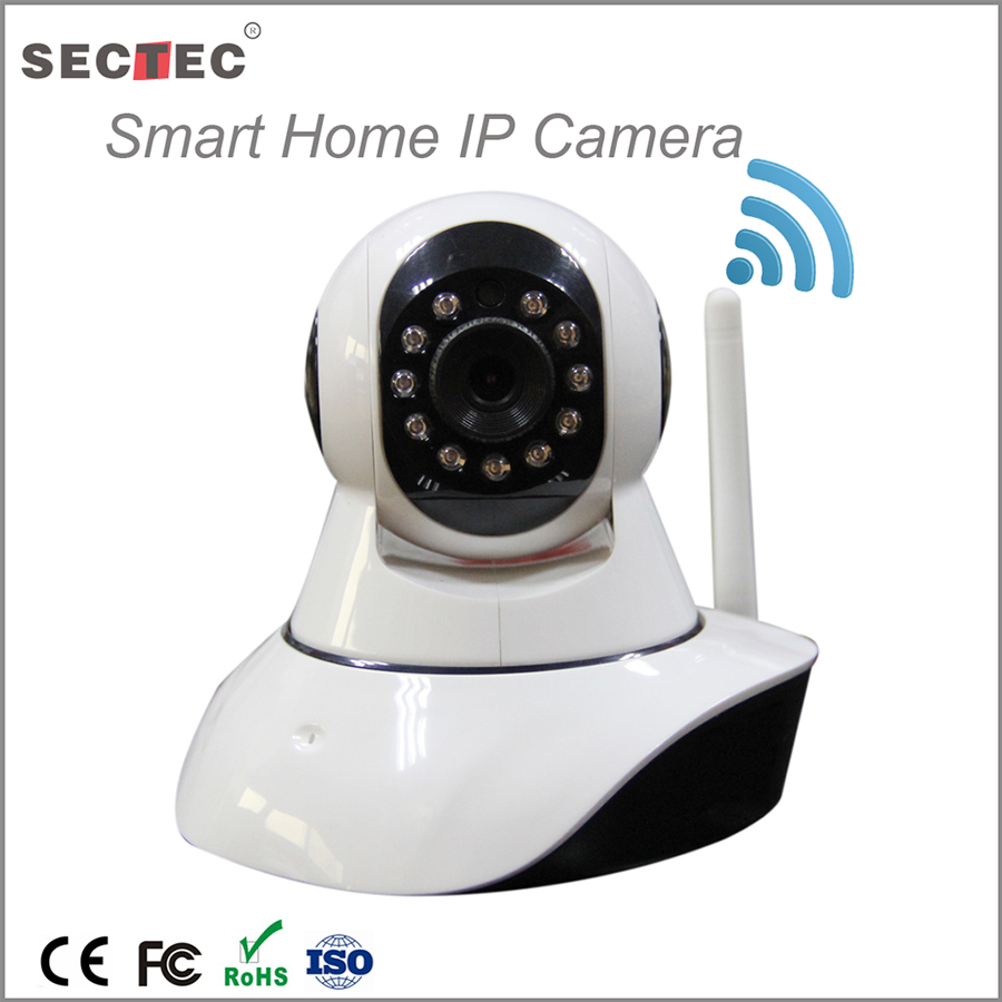sectec Christmas Gift promotion new products wireless wifi mini IP camera for home secuirty baby monitor family