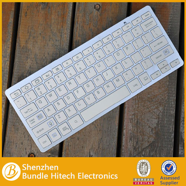Tablet keyboard Slim Wireless Bluetooth Keyboard for ipad air\iPad laptop