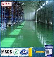 durable wearable epoxy cement base factory price floor paint