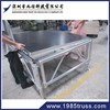 plywood boad,aluminium/iron fence mobile stage/concert stage
