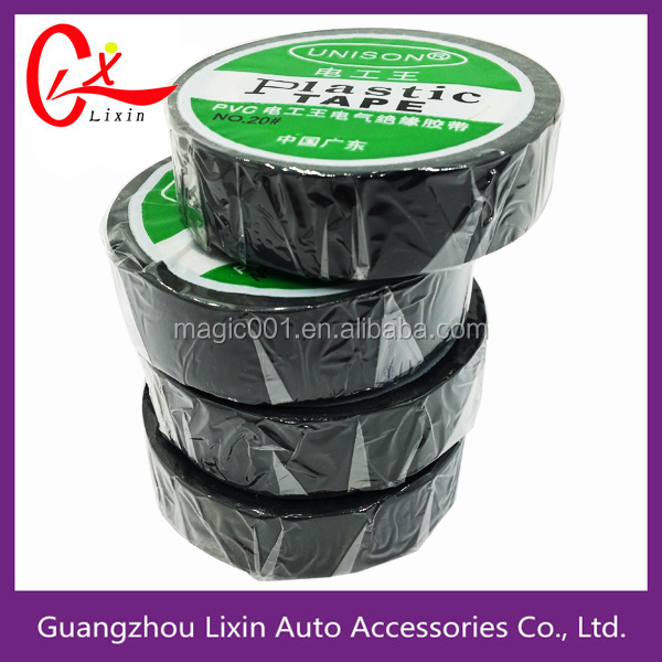 electrical wiring insulation black PVC wiring pipe wrap electric tape
