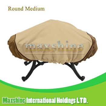 Veranda Waterproof Medium 44 Inches Easily Cleaned Round Metal Fire Pit Cover