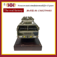 Alloy Metal military rocket tank car model