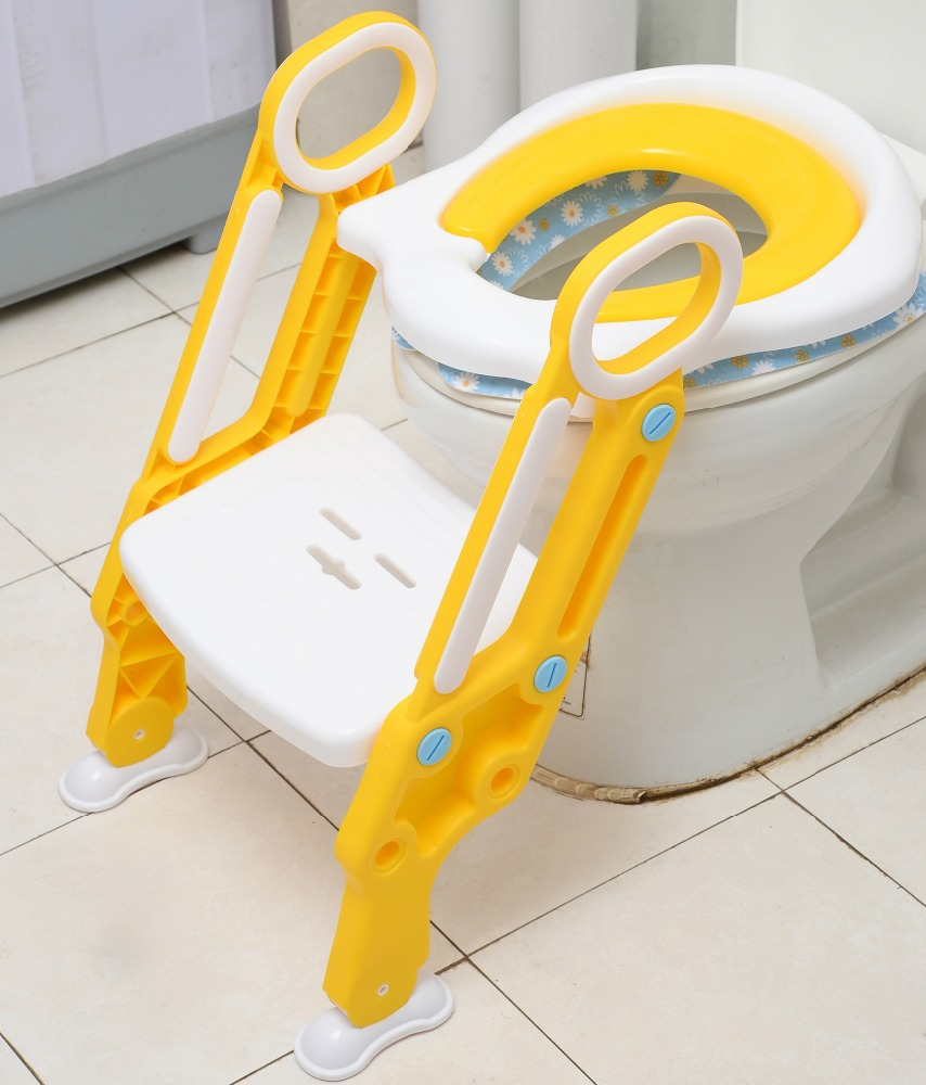 Hot sale Baby toilet Training Ladder baby potty seat with step