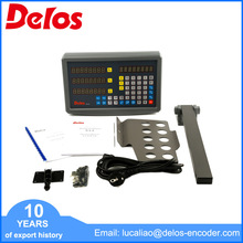 Free sample multi-functional 4 axis digital readout with linear scale grating ruler for DRO system