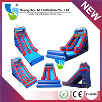 Happy Hop Inflatable Kids Bounce And Slide giant inflatable water slide