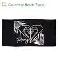 active printed promotional gift velvet beach towel