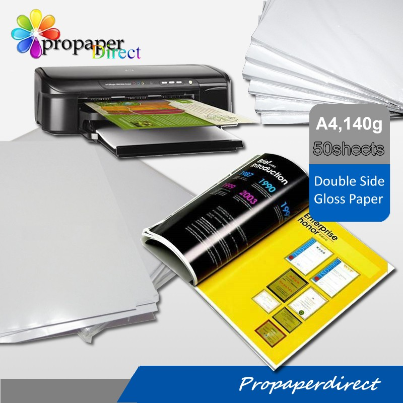 factory supply premium double sided high glossy inkjet photo paper