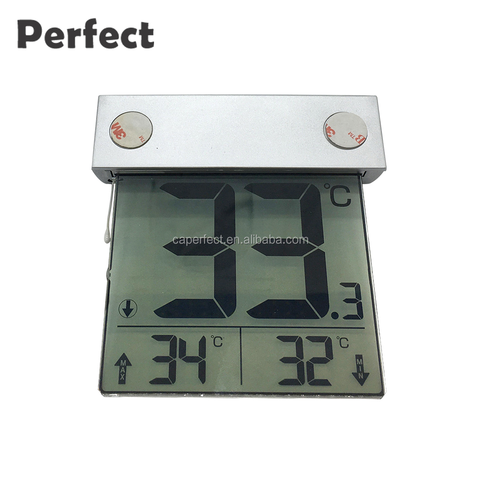 Alibaba buy now funny lcd screen display digital solar wireless thermometer hygrometer