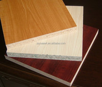 18mm plain partical board , melamine paper faced chipboard