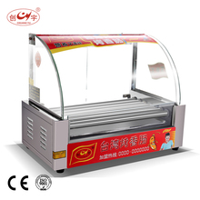 Chuangyu China Low Price Products 7 Roller Automatic Sausage Corn Hot Dog Grill Machine Cy-7