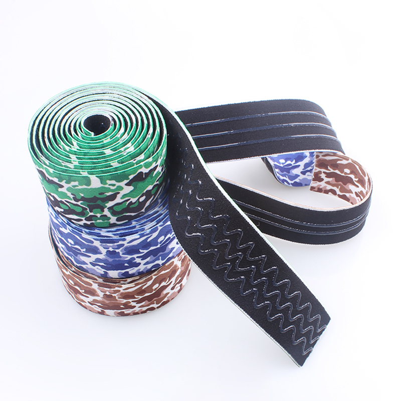 heat transfer printing transparent drip glue band for ski snow goggle