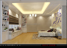 Luxurious Master Room Design 3D Architectural Rendering