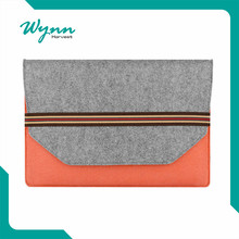Best seeling Custom 15.6 inch Felt Laptop Sleeve Bag