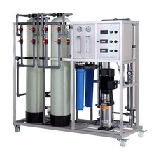 RO-500LPH reverse osmosis drinking water system, clean effluent drinking water treatment plant