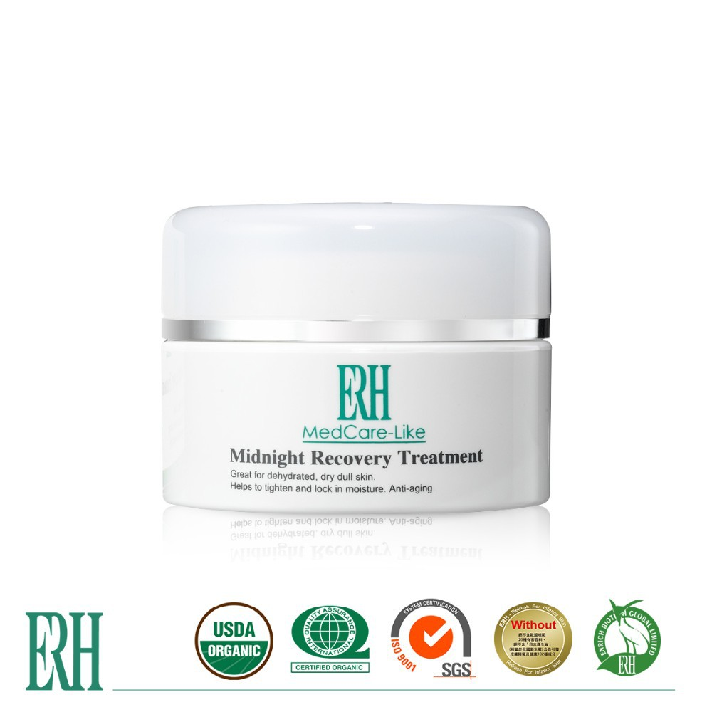 ERH 55g Midnight Recovery Treatment Moisturizer Gel Cream