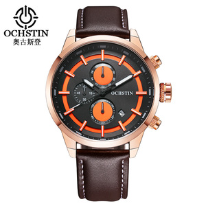 Business Genuine Leather Watches Men Brand Luxury Famous Wrist watch New/name brand wrist watch
