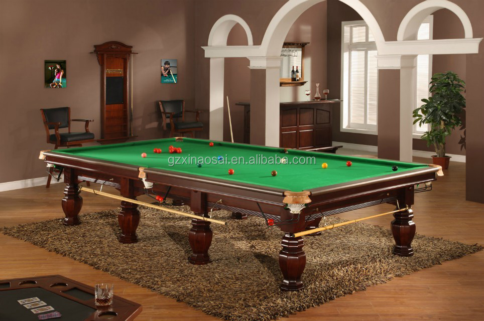 Factory Direct Sale 12ft International Standard Pool Billiard 45mm Slate Snooker Table With Solid Wood for sale