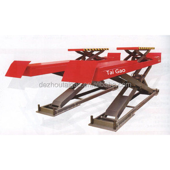 3.5T used hydraulic  scissor lift for sale