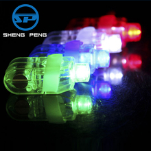 Fashion gift party use four colors led flashing finger light