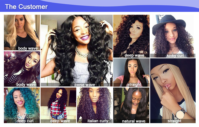 Befa Hair Good Selling No Shedding Human Indian Curly Virgin Hair