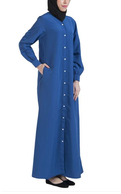 baju kurung Front Open Jilbab abaya islamic clothing muslim dress
