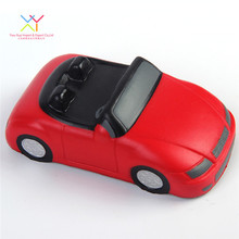 Promotional Products Stress Reliever Ball, PU Foam Red Car Shape Stress Ball