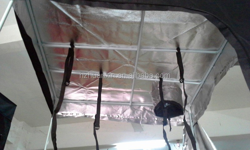 """D"" shaped door hydroponic plants 600D Mylar Oxford cloth grow tent"