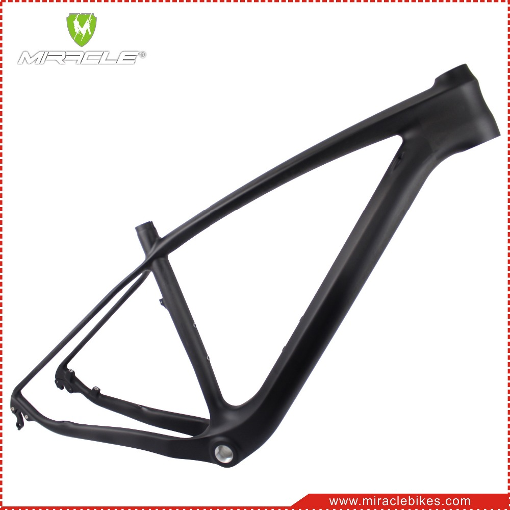 MIRACLE Full Carbon MTB Frame 29er cheap china mountain bike frame BSA/BB30 Compatible Quick release&Thru-axle