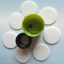 EPE foam liner used in aluminium screw tops among wine