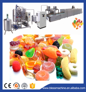 Energy Conservation up to 15% jelly candy depositing line with small investment