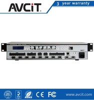 Programmable Central Controller, AV Solution, 7 Inch Touch Screen, 144x144 Modular and Scalable Audio Matrix Switcher