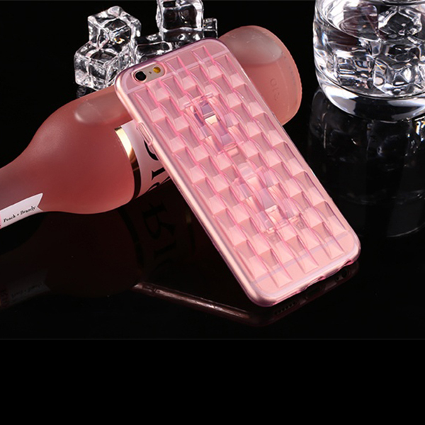 IP5002 Wholesale Ice Sculpture TPU Back Case for iPhone 5S , Cell Phone Case Cover for iPhone 5S