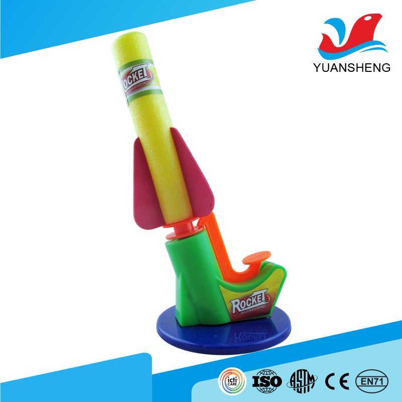 2017 best price educational science air pump rocket toys for children
