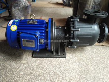 Corrosion resistant magnetic filter pump for surface treatment plating industry