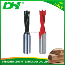 Good price quality professional hot sale Brad Point solid carbide wood core drill bits