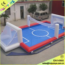 top quality inflatable soccer field from Hnjoytoys