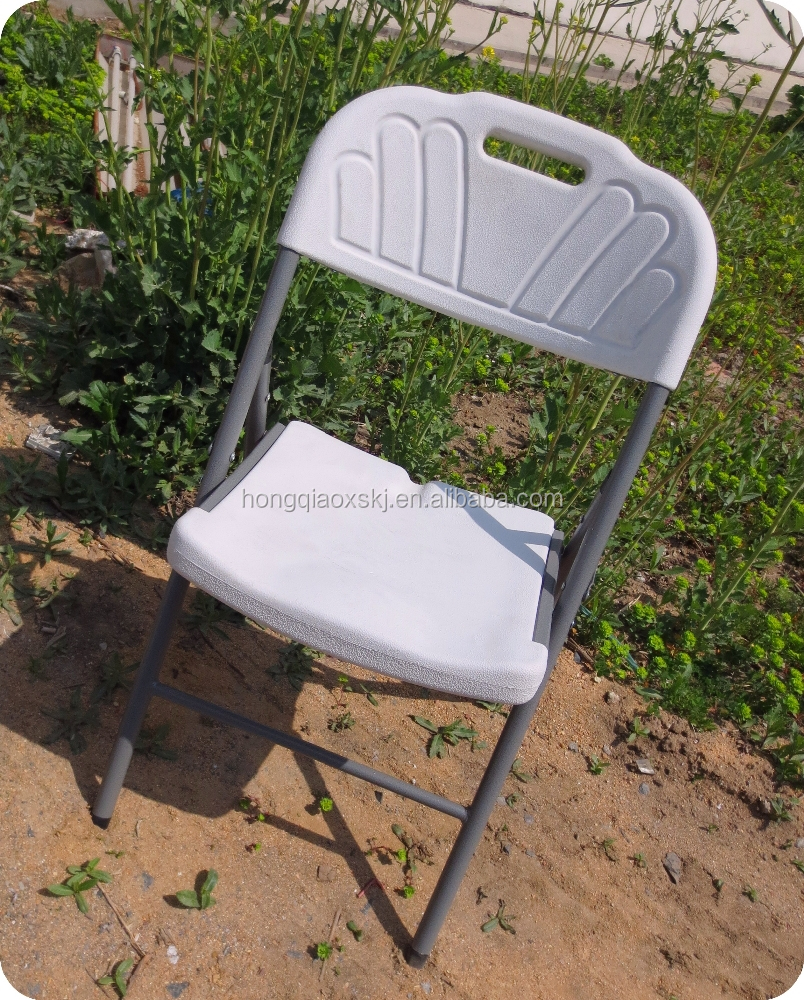 Modern Furniture Outdoor Cheap Plastic Chairs Folding Dining Chair Hdpe Blow Mold Plastic