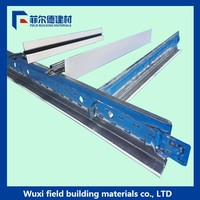 2016 T bar suspended ceiling grid new building materials