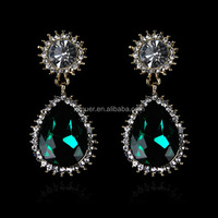 Wholesale luxury fashion exotic earrings jewelry
