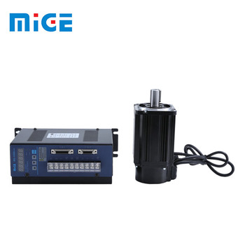 90mm 750w middle inertia high precision Chinese servo motor with driver