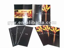 Restaurant catalogue/booklet/leaflet printing 2012