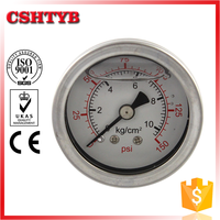 Hydraulic Liquid Filled Pressure Gauge